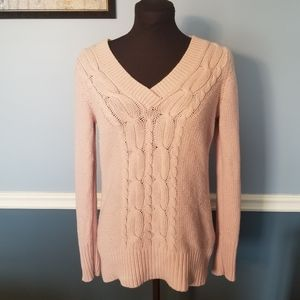 3/$15 light pink Old Navy v neck sweater
